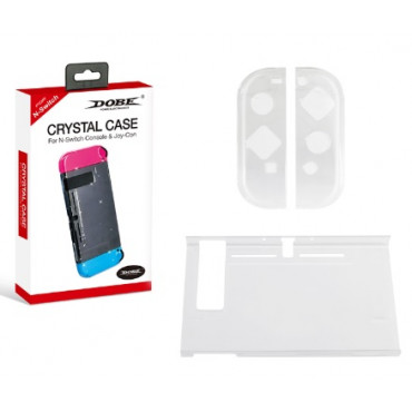 Dobe Crystal Case for Nintendo Switch Console and Joy-Con Protection