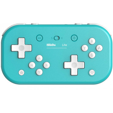 8Bitdo Lite Bluetooth Gamepad for Nintendo Switch Lite, Nintendo Switch & Windows (Turquoise Edition)