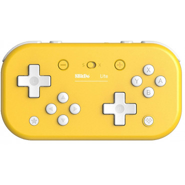 8Bitdo Lite Bluetooth Gamepad for Nintendo Switch Lite, Nintendo Switch & Windows (Yellow Edition)