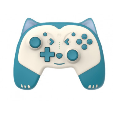 IINE for Nintendo Switch/LitePro cartoon wake up wireless Bluetooth controller macro programming animal controller NS accessories Blue Fox