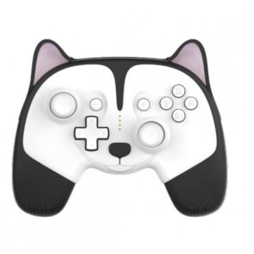 IINE for Nintendo Switch/LitePro cartoon wake up wireless Bluetooth controller macro programming animal controller Husky