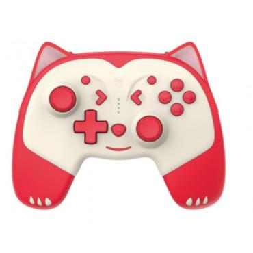 IINE for Nintendo Switch/LitePro cartoon wake up wireless Bluetooth controller macro programming animal controller Red Fox