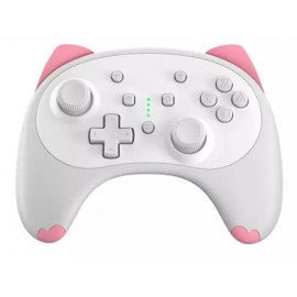 IINE Cartoon Kitten Wireless Controller for Nintendo Switch/Lite White