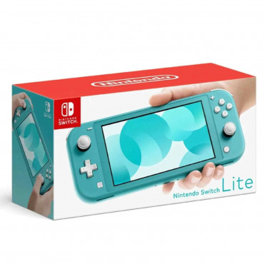 Nintendo Switch Lite Console Turquoise (IMPORT SET)