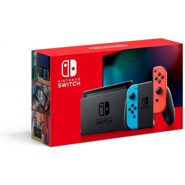 Nintendo Switch Console With Battery Enhanced Neon (MAXSOFT SET)