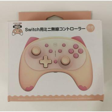 IINE Cartoon Kitten 2nd Gen Wireless Controller for Nintendo Switch/Lite Pink